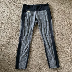 Lole Workout Leggings Mesh Panel